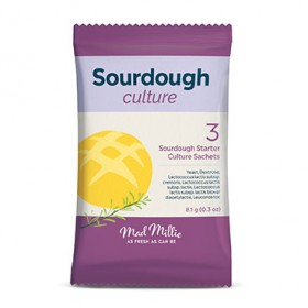 Mad Millie Sourdough Culture - pack of 3