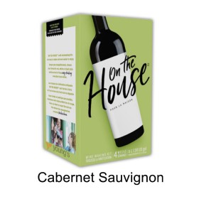 On the house - Cabernet Sauvignon - 30 bottle wine kit