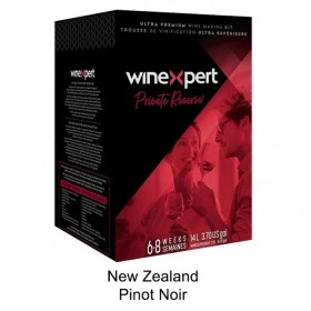Winexpert  - Private reserve - New Zealand Pinot Noir - Winemaking  Kit