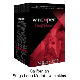 Winexpert  - Private reserve - Californian Stags Leap Merlot - with grape skins (Winemaking Kit)