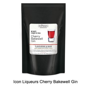 Icon Liqueurs - Cherry Bakewell Gin Icon - flavour pouch