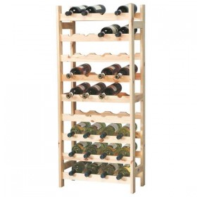 54 Bottle wine rack - All wood