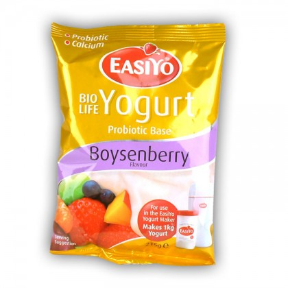 Easiyo Speciality Yogurt Probiotic Base In Boysenberry from dowricks.com