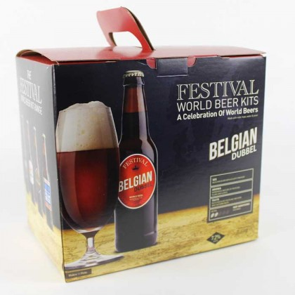 Festival Belgian Dubbel Beer Kit from dowricks.com
