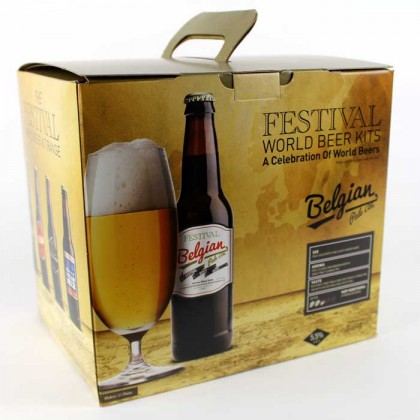 Festival Belgian Pale Ale Beer Kit from dowricks.com