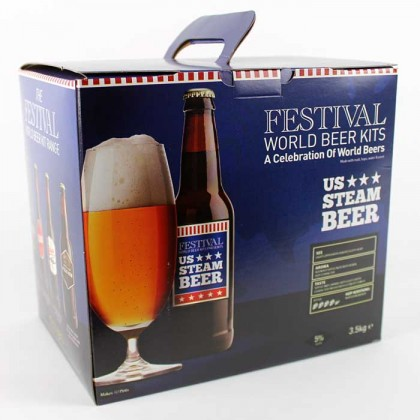 Festival US Steam Beer Kit from dowricks.com