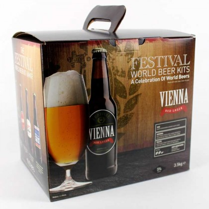 Festival Vienna Red Lager Beer Kit from dowricks.com
