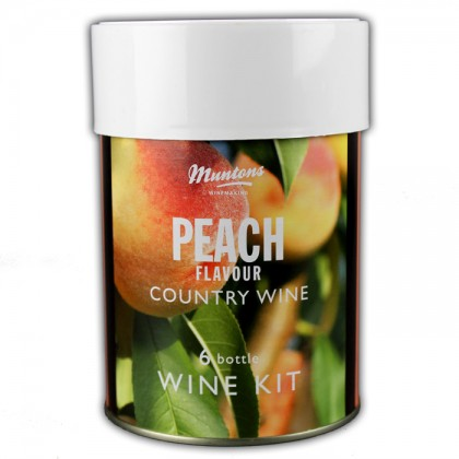 Muntons Peach Wine from dowricks.com