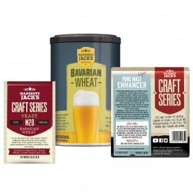 Mangrove Jack's Bavarian Wheat Premium Beer Brewing Kit Upgrade