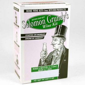 Solomon Grundy Fruit - Black Cherry 6 bottle wine kit