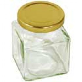 Square Screw Top Jars