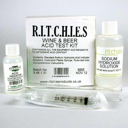 Acid Test Kit from dowricks.com