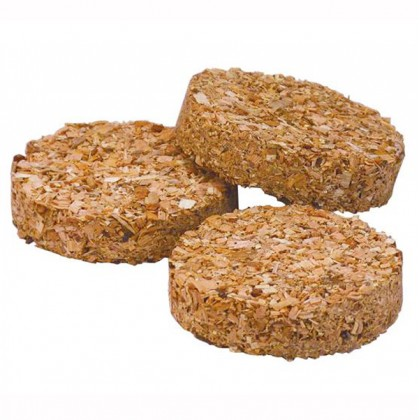 Special blend sawdust puck for electric smoker pack of 120 from dowricks.com