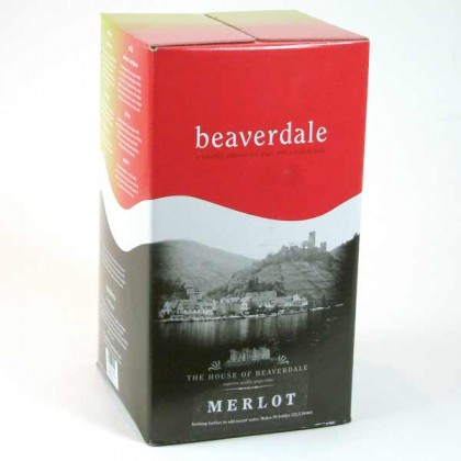 Beaverdale Rioja Red - 5 gallon wine kit - Yeast and Grape Juice only from dowricks.com