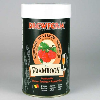 Brewferm Framboos (Raspberry) from dowricks.com