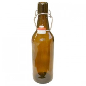 Brown swing top bottles - 500ml - case of 12