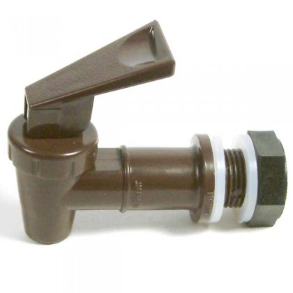 Brupaks Electric Boiler - Spare tap complete with nut & washer from dowricks.com