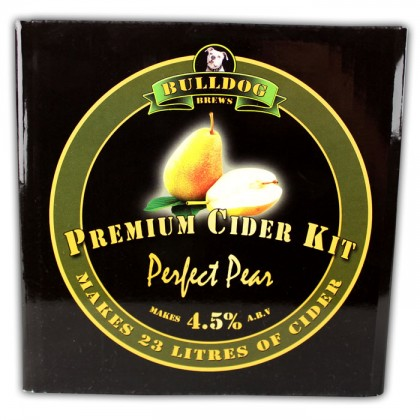 Bulldog Brew Perfect Pear Cider from dowricks.com