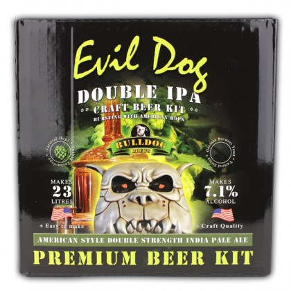 Bulldog Evil Dog Double IPA from dowricks.com