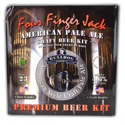Bulldog Four Finger Jack American Pale Ale from dowricks.com