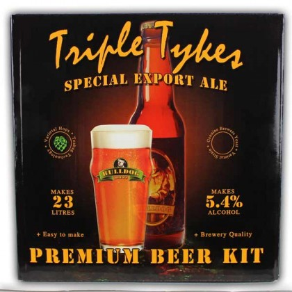 Bulldog Triple Tykes Export Ale from dowricks.com