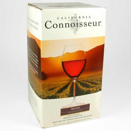 California Connoisseur - Merlot 30 Bottles from dowricks.com
