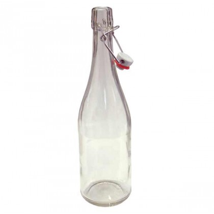 Clear swing top bottles - 750ml - each from dowricks.com