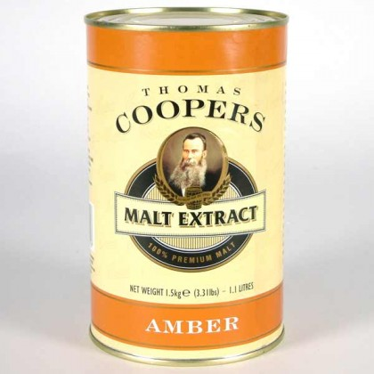 Coopers Amber Malt Extract from dowricks.com