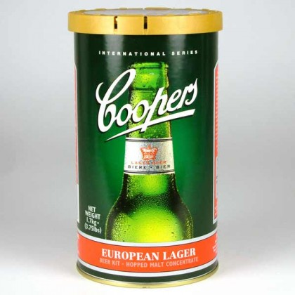Coopers European Lager from dowricks.com