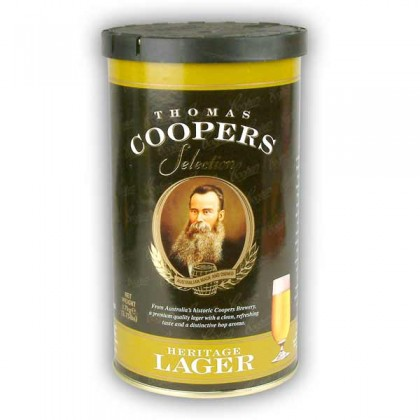 Coopers Heritage Lager from dowricks.com