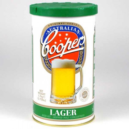 Coopers Lager from dowricks.com