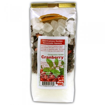 Cranberry Liqueur by Countrymans Garden from dowricks.com