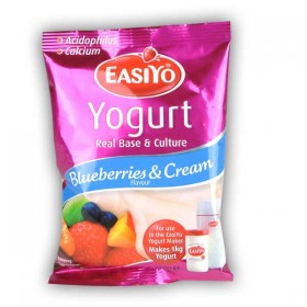 Easiyo Blueberries & Cream Premium Yogurt Base