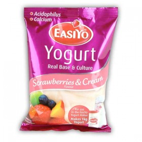 Easiyo Strawberries & Cream Premium Yogurt Base