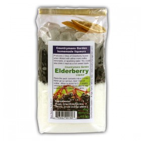Elderberry Liqueur by Countrymans Garden