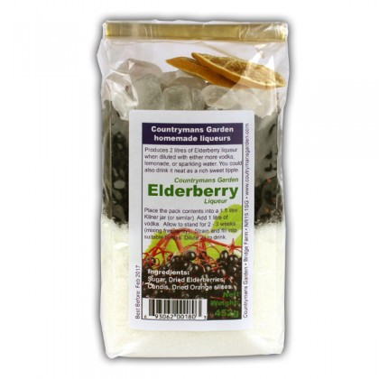 Elderberry Liqueur by Countrymans Garden from dowricks.com