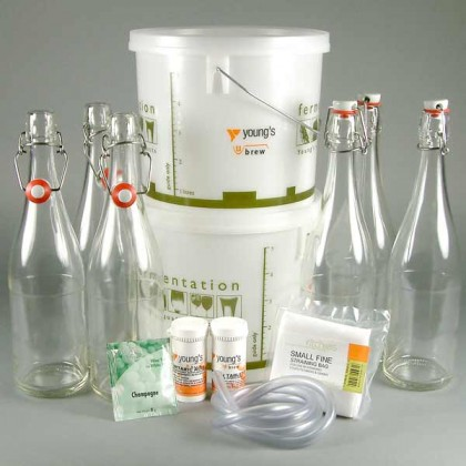 Sparkling Elderflower Wine Starter Kit - 12 bottle from dowricks.com