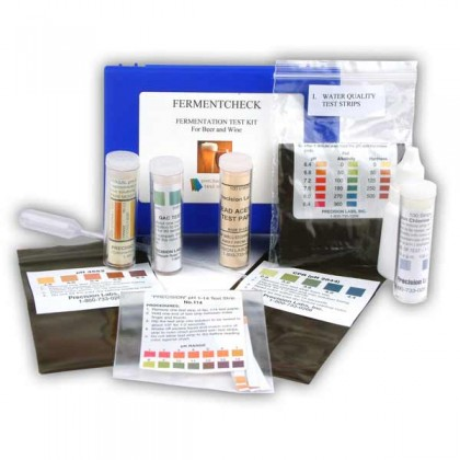 Fermentation test kit - beer and wine - fermentcheck from dowricks.com