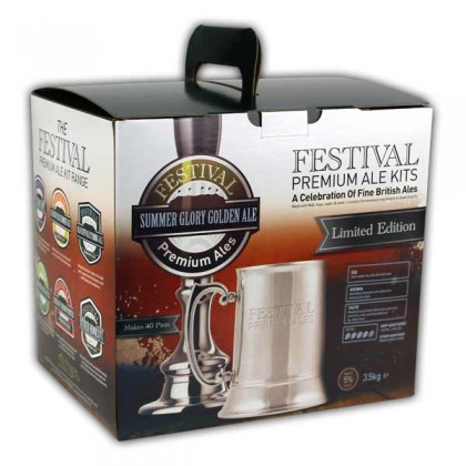 Festival Summer Glory Golden Ale Beer Kit from dowricks.com
