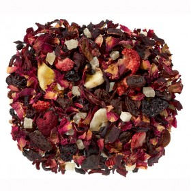 Fruit Tea Blend Crazy Love (Strawberry) 100 gram