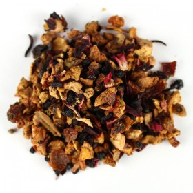 Fruit Tea Blend Elderberry / Vineyard Peach 100 gram