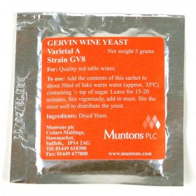 Gervin No 8 - Red Table Wine Yeast