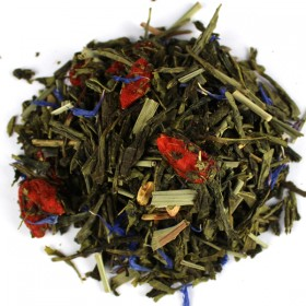 Green Tea Blend Sencha Gojiberry (Pomegranate/Blueberry) 100 g