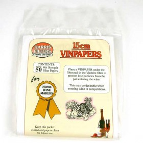 Harris 15cm Vinpapers for Vinbrite 3 - Pack of 50