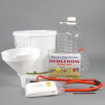 Hedgerow Winemaking complete starter kit - 1 gallon from dowricks.com