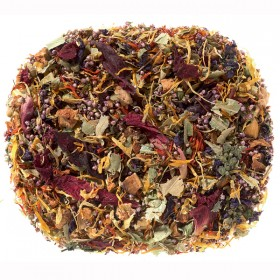 Herb tea blend Sea of Blossoms (Cherry / Raspberry) 100 gram