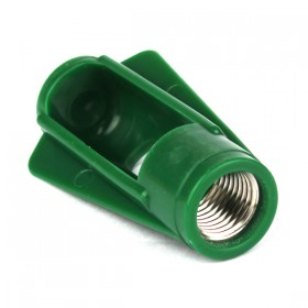 High quality plastic bulb holder with metal thread