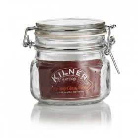 Kilner clip top jar (square) - 500ml (0.5 liter)
