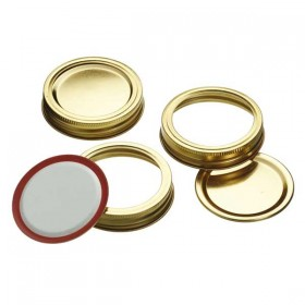 Lids to fit 500g and 1kg jars - Box of 12