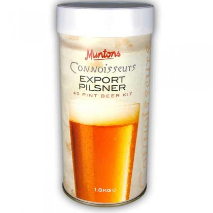 Muntons Conniusseurs Export Pilsner from dowricks.com